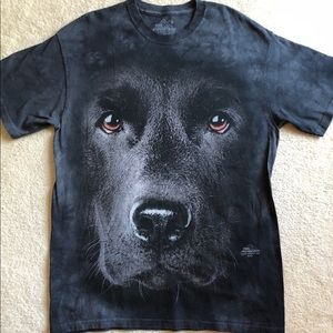 NWOT Vivid Dog Face T-Shirt